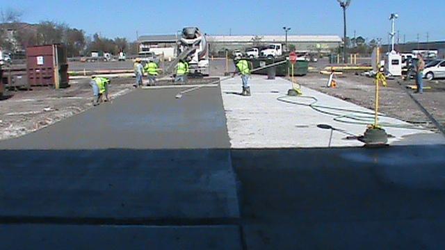 Commercial Concrete Contractor Houston